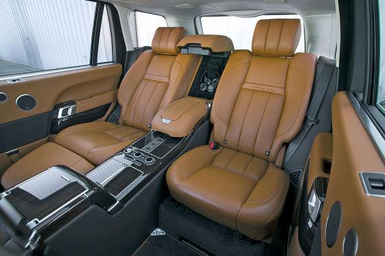Range Rover LWB Rückbank