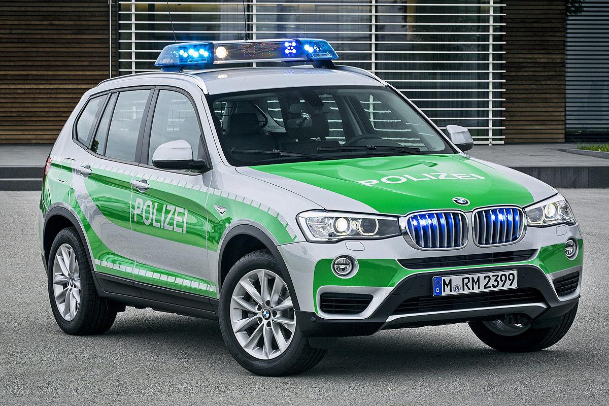 BMW X3 Polizei