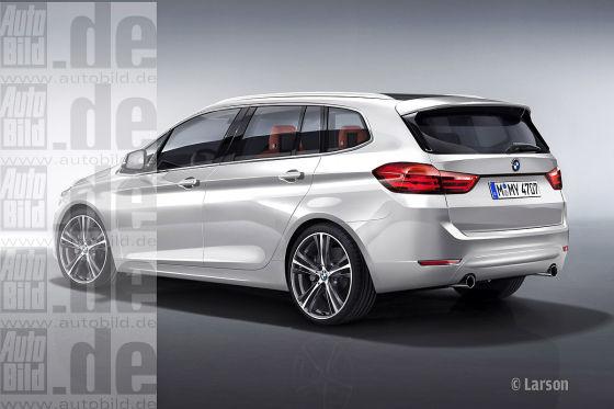 BMW 1er Family Tourer Illustration
