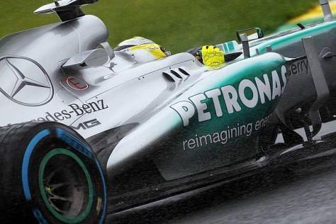 Nico Rosberg gewann 2013 zwei Rennen, trotzdem reichte es nur zu Rang sechs