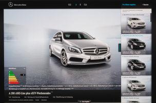 Mercedes geht online