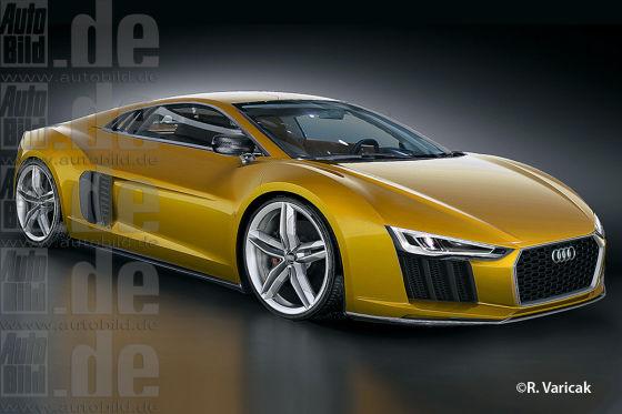 Audi R8 zweite Generation (Illustration)