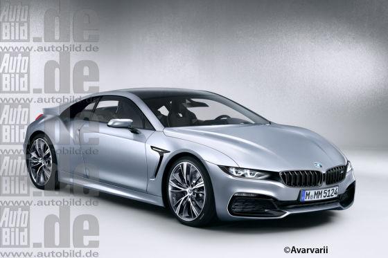 BMW M8 Illustration