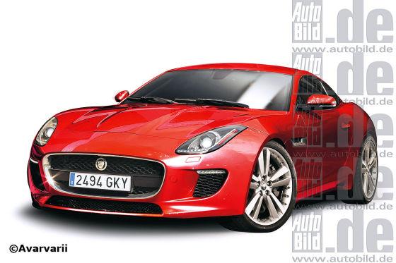 Jaguar F-Type Coupé Illustration