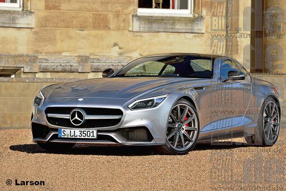 Mercedes SLC Illustration