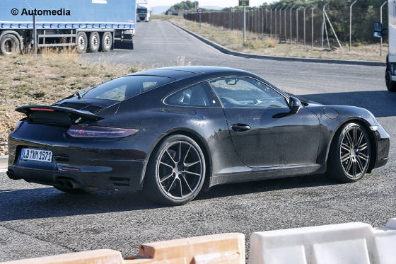 Erlkönig Porsche 911 FL
