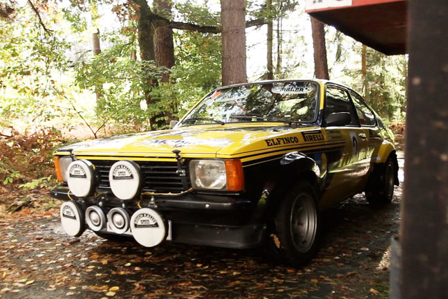 Video: Opel Kadett C GTE