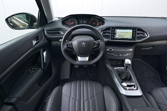 Peugeot 308, Innenraum, Cockpit