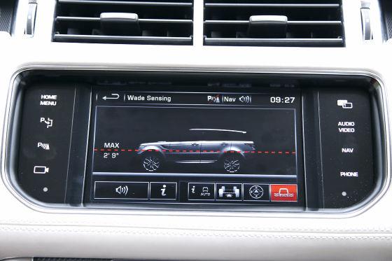 Range Rover Sport Touchscreen