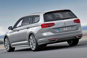 VW enth�llt den neuen Passat