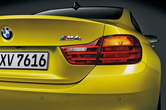 BMW M4 Heckklappe