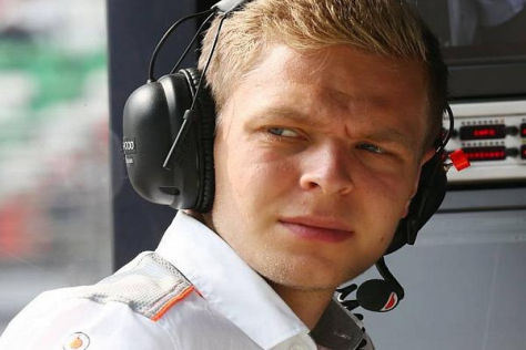 Kevin Magnussen sitzt 2014 im zweiten McLaren-Fahrzeug neben Jenson Button