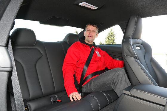 BMW M4 Sitzprobe Maltzan