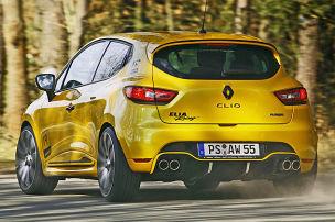 Aufgemotzter Clio RS