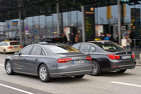 Audi A8 BMW 7er