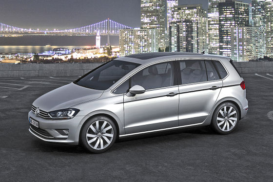 VW Golf Sportsvan 2013