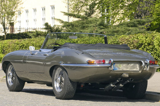 Jaguar E-Type Serie 1 Roadster, 4,2 Ltr
