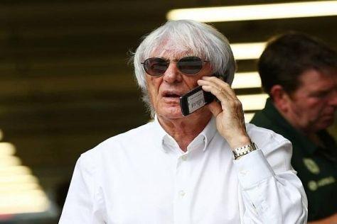 Bernie Ecclestone kann sich vorstellen, dass die Punkteverdopplung vom Tisch fällt