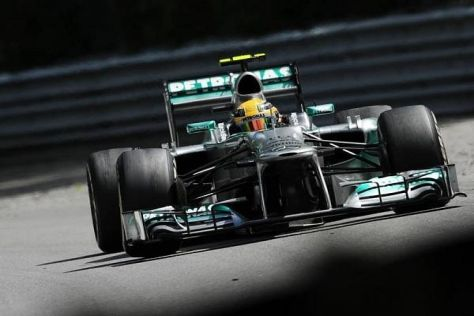 Lewis Hamilton erlebte eine erste Mercedes-Saison mit Höhen und Tiefen