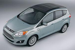 Ford C-Max Solar Energi Concept auf der CES
