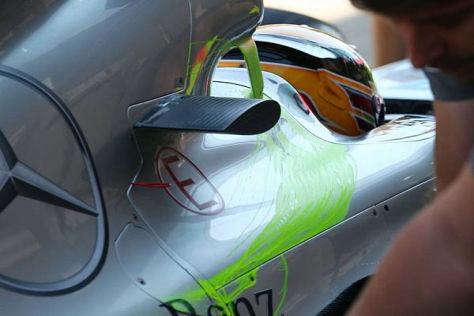 Lewis Hamilton vertraut darauf, bald den besten Turbo im Heck zu haben