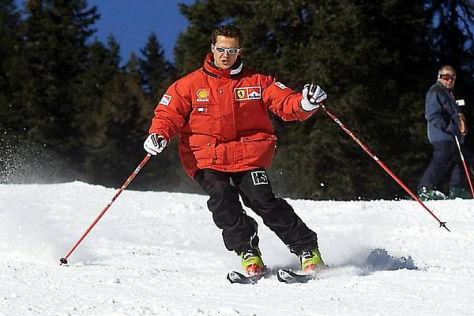 Bei seinem Skiunfall trug Michael Schumacher eine Helmkamera