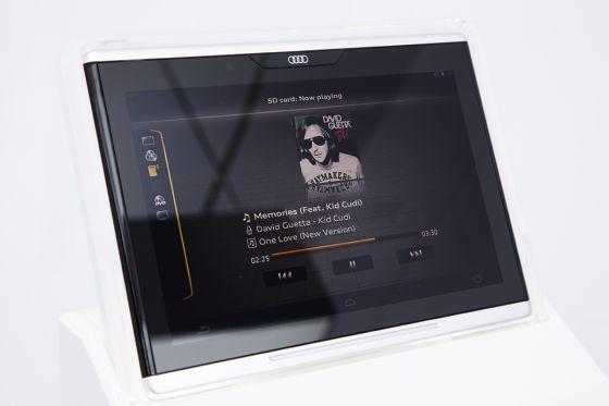 Das iPad von Audi