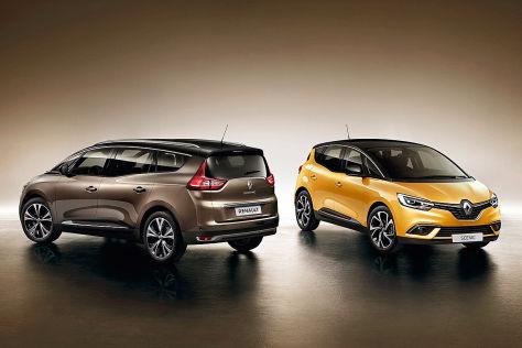 Renault Scénicgrand Scénic 2016 Vorstellung Autobildde