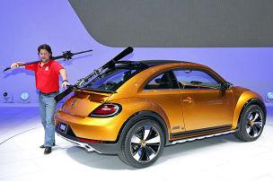 Der Beetle wird wild