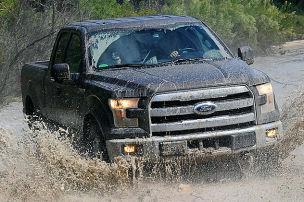 Pick-up-Riese mit Schrumpfmotor