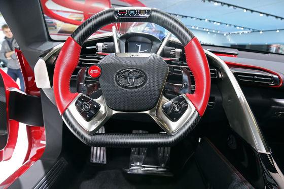 Sitzprobe Toyota FT-1