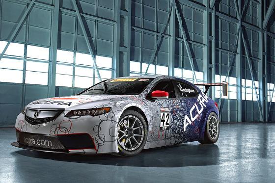 Acura TLX GT Race Car