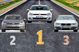 Die beliebtesten Autos 2013