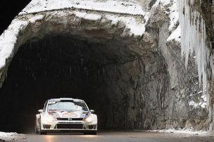 Der Pr�fungsplan der Rallye Monte Carlo