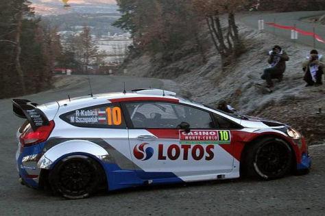 Robert Kubica überraschte bei der Rallye Monte Carlo Konkurrenz und Beobachter