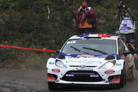 Bryan Bouffier liegt bei der Rallye Monte Carlo weiter klar in Führung