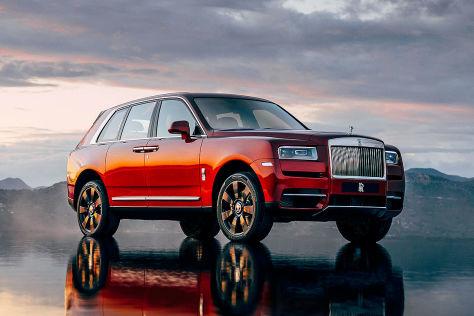 Rolls Royce Cullinan 2018 Test Preis Suv Innenraum