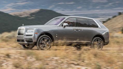 Rolls-Royce Cullinan (2018): Fahrbericht