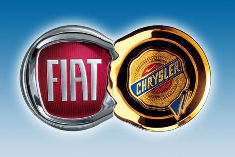 Montage Fiat-Chrysler-Logo