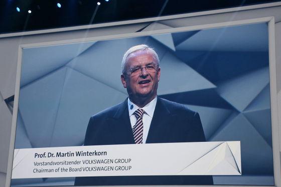 VW-Vorstand Martin Winterkorn
