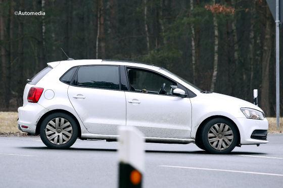 VW Polo Facelift Erlkönig