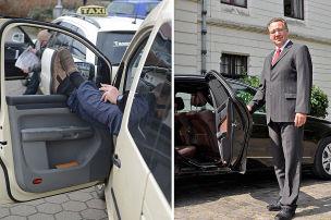 Zwei-Klassen-Taxi in Berlin?