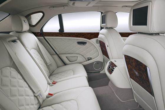 Bentley Birkin Mulsanne Sonderserie Bentley Boy Fond