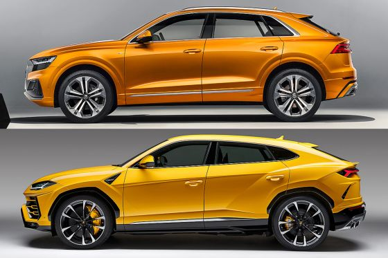 Audi Q8 Illustration