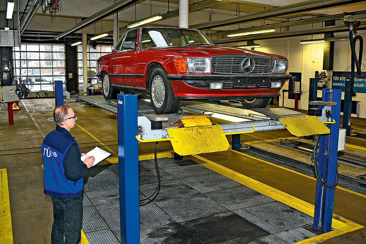 Stromlaufplan Mercedes W126