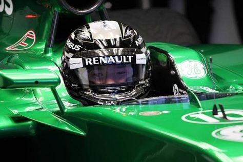 Kamui Kobayashi absolvierte in Jerez 54 Runden - verhältnismäßig viele