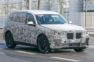 BMW X7 auf Testfahrt