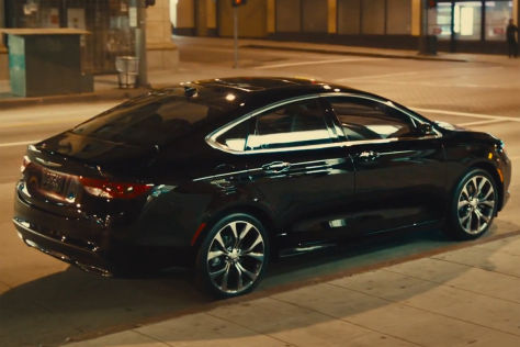 Chrysler 200: Super Bowl-Werbespot