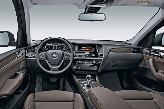 BMW X3 Innenraum