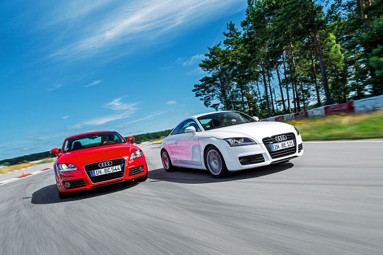 Audi TT 2.0 TFSI und Audi TT 2.0 TFSI quattro